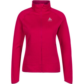 Odlo Carve Ceramiwarm Full-Zip Midlayer Women cerise